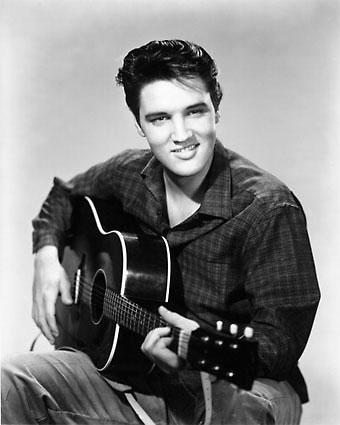 Elvis presley krabbels