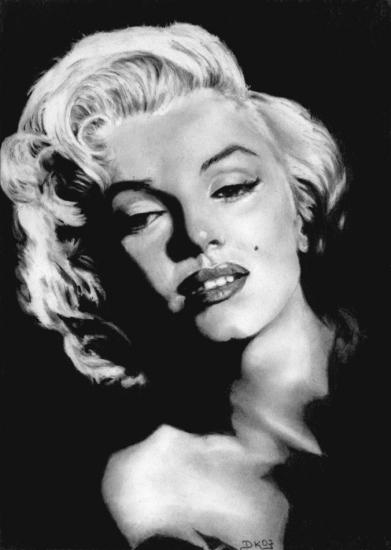 Marilyn monroe krabbels
