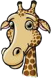Giraffen krabbels