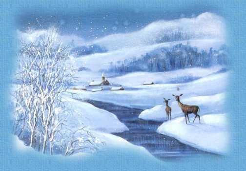 Winter krabbels