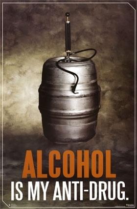 Alcohol krabbels