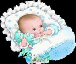 Baby krabbels