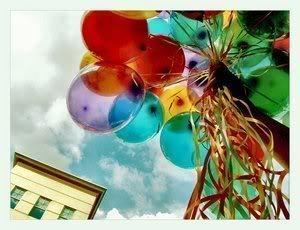 Ballonnen krabbels