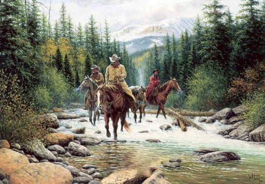 Cowboy krabbels