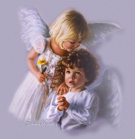 Engelen krabbels