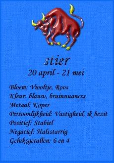 Horoscoop krabbels