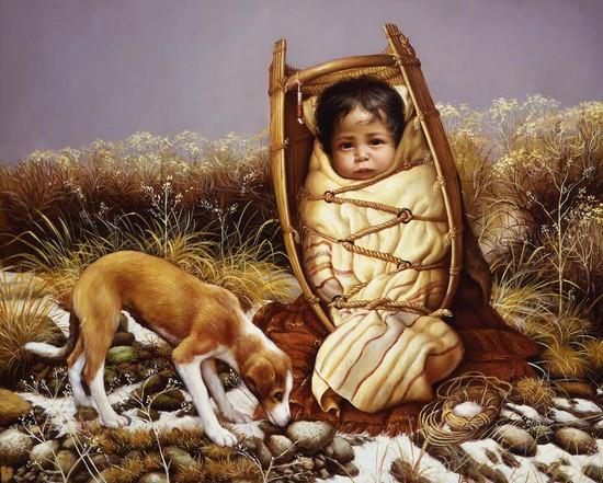 Indianen krabbels