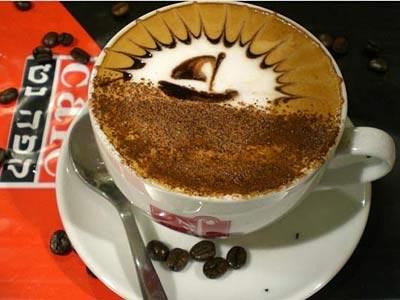 Koffie krabbels