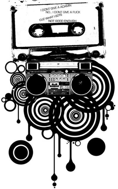 Muziek krabbels
