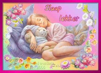 Slaap lekker krabbels