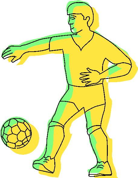 Voetbal krabbels